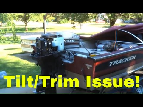 power tilt trim fix on mercury hp outboard power tilt trim fix on mercury 60hp outboard