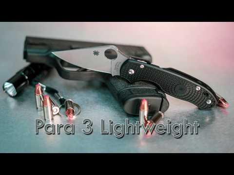 Spyderco C223SBK Para 3 video_1
