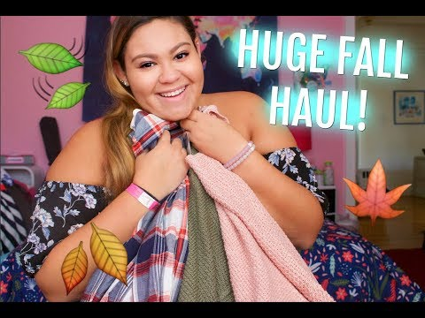 Biggest Fall Try-On Haul Ever! Forever 21, Old Navy, American Eagle, & More!