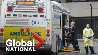 Global National: April 23, 2021 | Ontario hospitals at a breaking point amid surging COVID-19 cases
