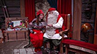 видео Как написать письмо Санта-Клаусу в Лапландию?