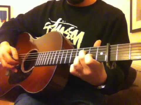 The 'Never Going Back Again' lick (CGDGBE tuning)