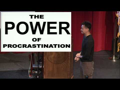"""""""The Power of Procrastination,"""" a talk by Dr. Jorge Cham at Washington College"""