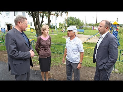 Глава Луховиц В. Барсуков совершил рабочую поездку по округу