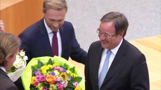 Nordrhein-Westfalen: Armin Laschet zum neuen Ministerpräsidenten gewählt