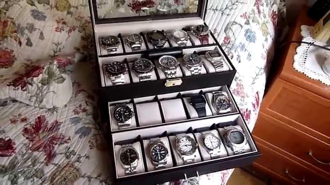 M8ax estuche 20 relojes de esfera grande youtube - Relojes grandes de pared vintage ...