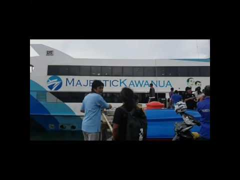 Fans waiting for Jin BTS at Manado port, Indonesia