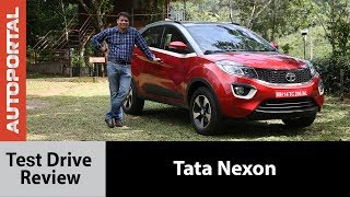 Tata Nexon Test Drive Review - Autoportal