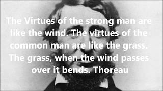 The Virtues of the Strong Man or Woman