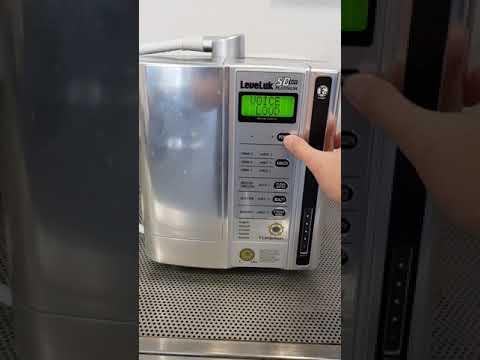 How to change volume and language from Kangen Water SD 501 Platinum machine