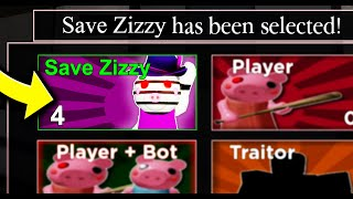 i played the new Save Zizzy game mode in Roblox Piggy 2..