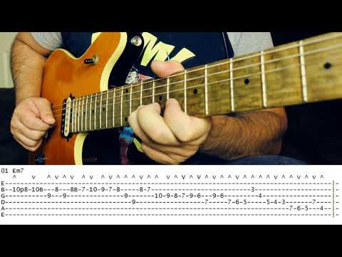 GUITAR LESSON - The Masters of Economy / Sweep Picking series # lick 01 - FRANK GAMBALE
