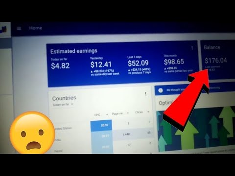 Adsense Earning Proof $2000 With All Secret Formula High cpc