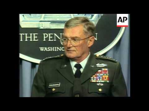USA - Press Conference General John Shalikashvili
