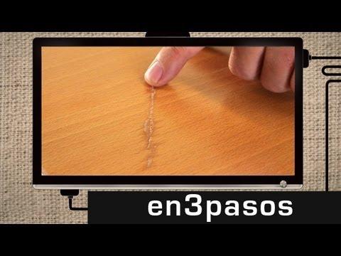 C mo reparar o arreglar puertas caidas de madera f cil - Masilla para madera casera ...