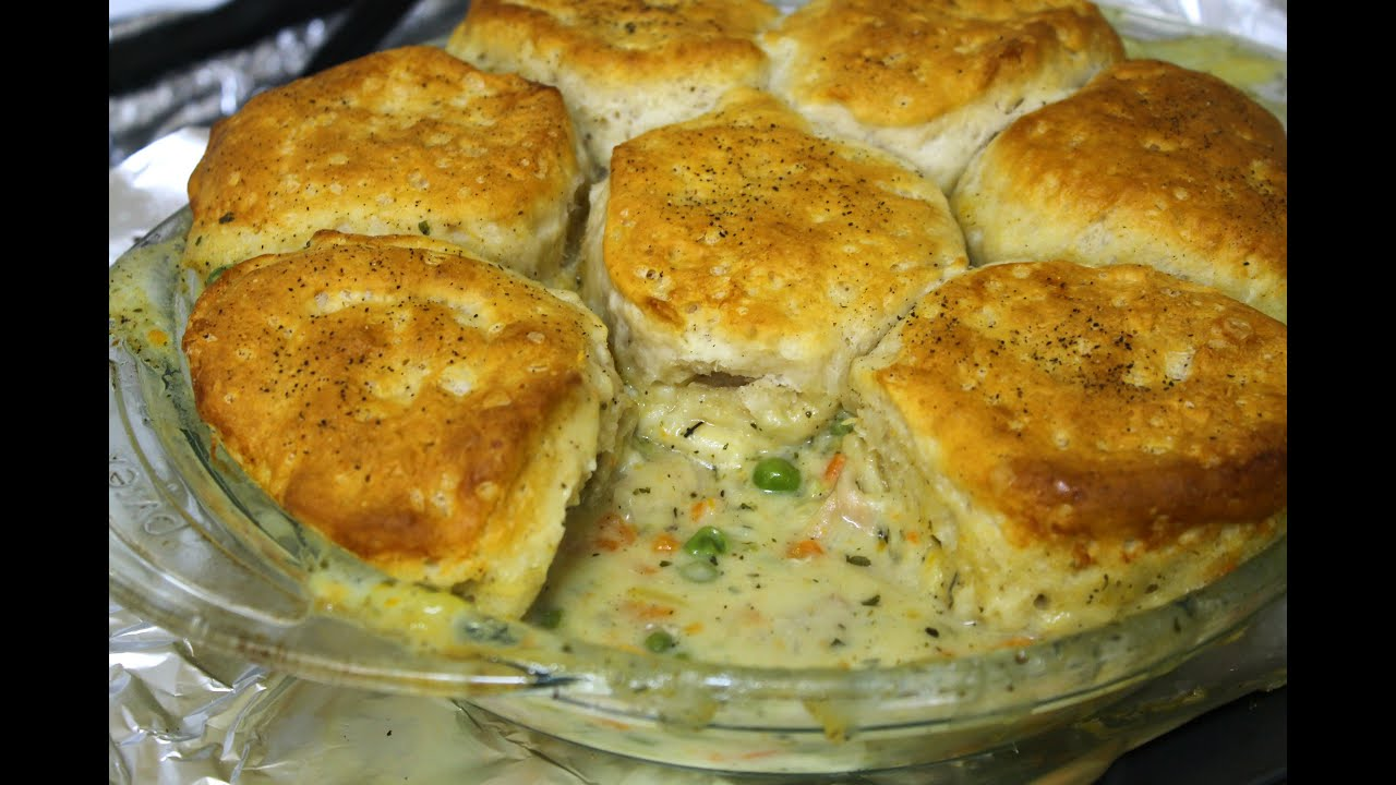 Chicken And Biscuit Pot Pie Recipe In The Kitchen With Jonny Episode 168