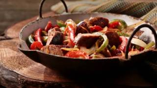 Recipe: Italian Sausage, Pepper & Onion Skillet