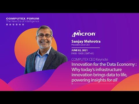 COMPUTEX Micron CEO Keynote - Innovation for the Data Economy