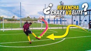 ¿REVANCHA CRAZY CREW VS LA ÉLITE? ¡Retos de Fútbol!