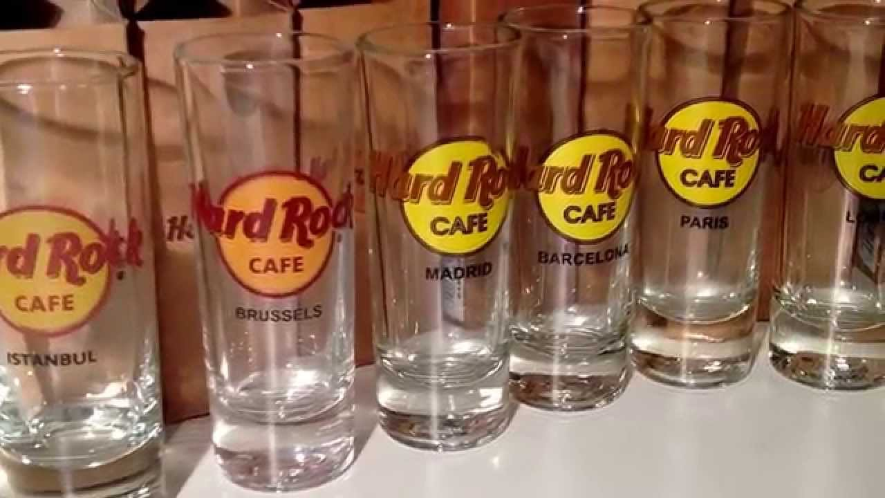 Hard Rock Cafe Hurricane Glass Collection