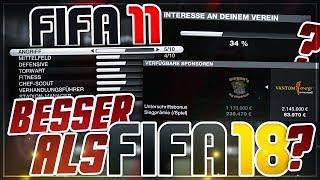 DER KARRIEREMODUS VOR 8 JAHREN IST SO VIEL BESSER ALS HEUTE!!! 🔥😱 - FIFA 11 Retro Karrieremodus