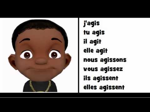 Comptine Grammaticale Le Verbe Agir Youtube