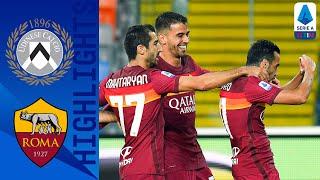 Udinese 0-1 Roma | La Roma trova la prima vittoria in campionato | Serie A TIM