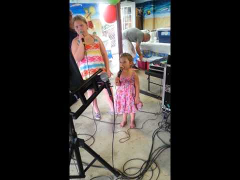 Athena let it go karaoke