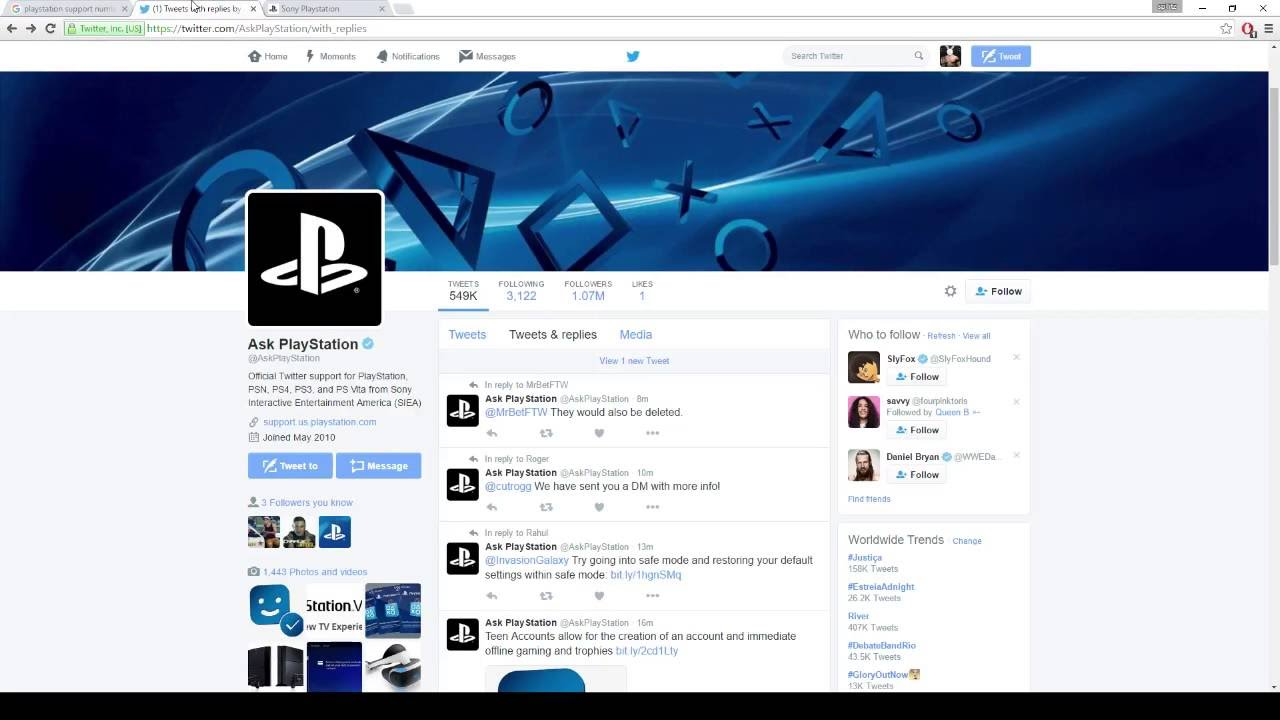 how to contact playstation support ps4 ps3 youtube