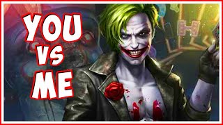 INJUSTICE 2 - You vs. Me! Live 1vs1 Matches!