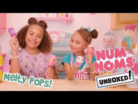UNBOXED! | Num Noms | Season 3 Episode 10: Snackables Melty Pops!