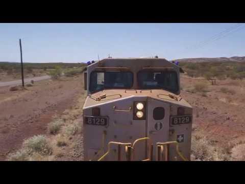 Australia's first fully autonomous train run