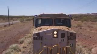 El primer tren completamente autónomo de Australia