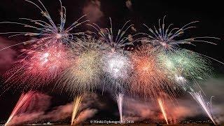 神明の花火 30周年記念特別プログラム 2尺玉あり マルゴー [4k] Shinmei  Fireworks Festival Japan