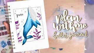 Plan With Me (Junio / June) 2019) ⎮ Bullet Journal