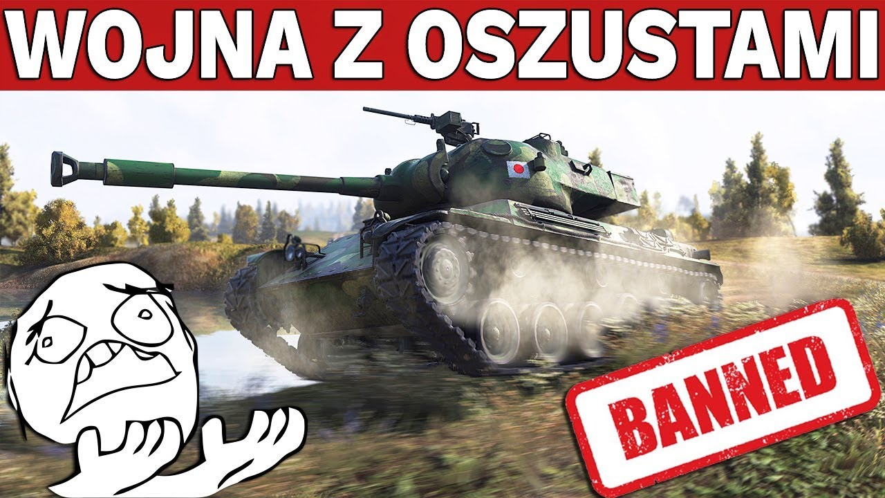 WOJNA Z OSZUSTAMI !!! – Wargaming Banuje – World of Tanks