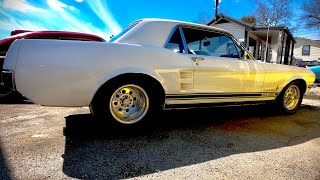 Test Drive 1967 Pro Street Ford Mustang $15,900 Maple Motors #509