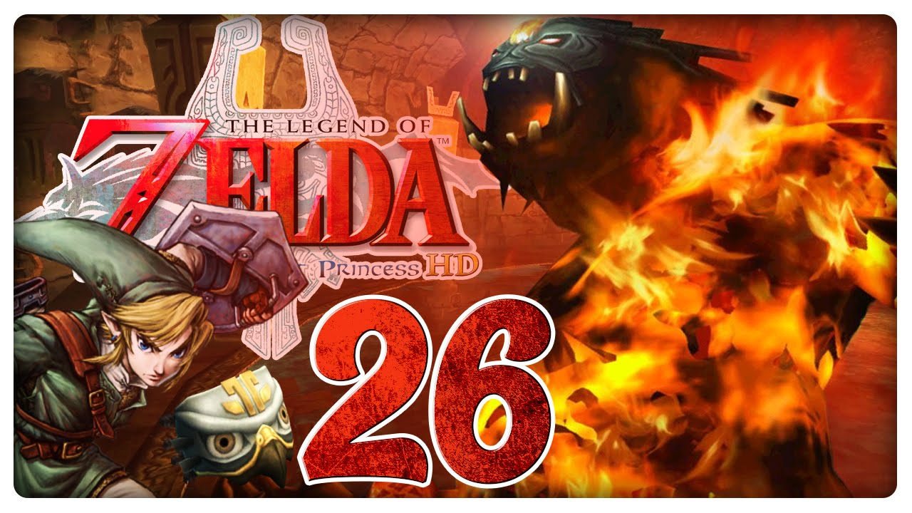 THE LEGEND OF ZELDA TWILIGHT PRINCESS HD Part 26 Flammende Bestie