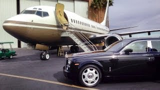 Jetsetting On Steve Wynn's Custom 737 Private Jet (full)