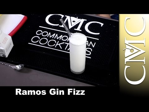 Ramos Gin Fizz / New Orleans Fizz / One and Only One
