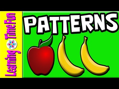 Patterns for Kids | Learn Patterns | Preschool Patterns | Kindergarten Patterns | Children Learning