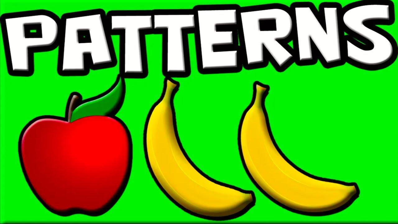 Patterns for Kids   Learn Patterns   Preschool Patterns ...