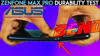 Zenfone Max Pro M1 Durability Test- BEND Test, Scratch Test!  +Unboxing and First Impressions