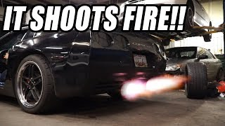 INSTALLING 2 STEP ON THE C5 CORVETTE WENT HORRIBLY WRONG... *EXHAUST FAILURE*