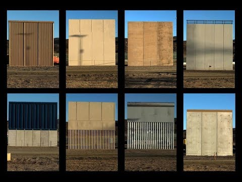 BREAKING NEWS: Border Patrol Announces the Completion of the Border Wall Prototypes & take Questions