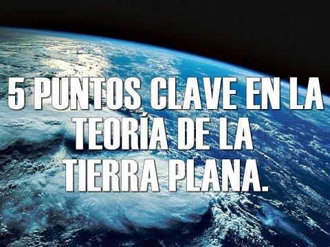 5 PUNTOS CLAVE DE LA TEORÍA DE LA TIERRA PLANA. (The Flat Earth Society.)