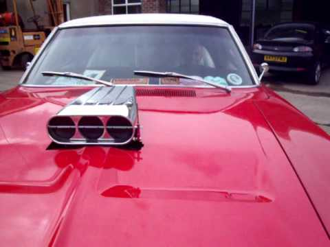 Dodge Charger With Air Intake Scoop In Bonnet Youtube