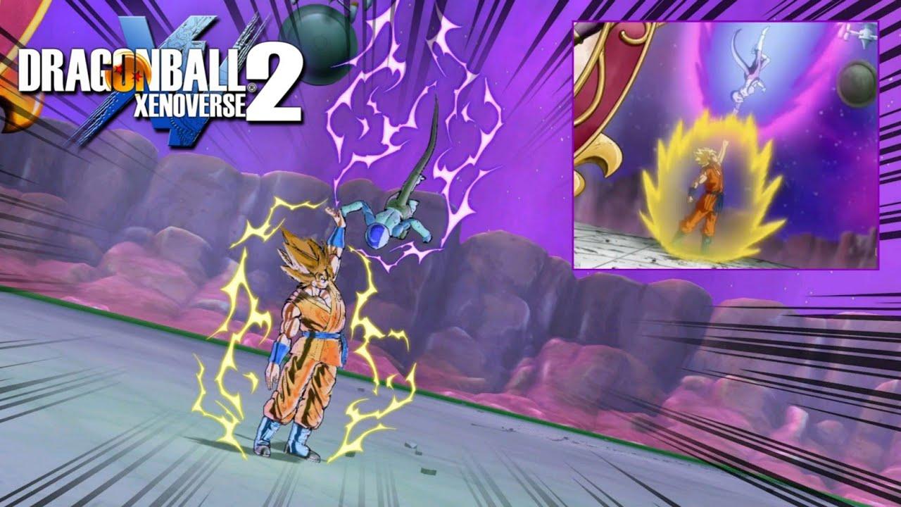 Univers 7 vs Univers 6 [J-Screen] Dragon Ball Xenoverse 2