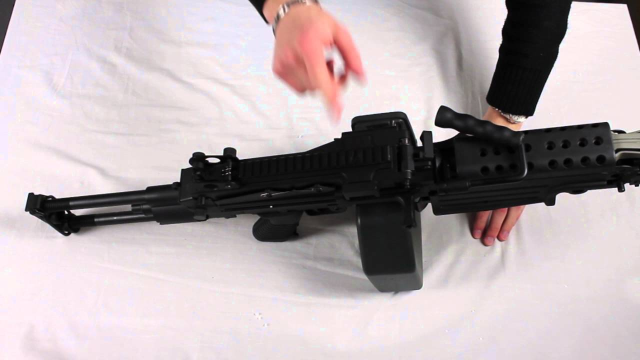 M249 review - YouTube
