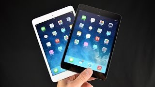 Apple iPad mini with Retina Display (White vs Black): Unboxing & Overview
